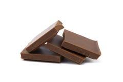 Mjölka chokladstycken Royaltyfria Foton
