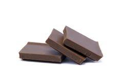 Mjölka chokladstycken Royaltyfri Fotografi