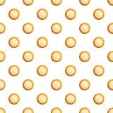 Mjölka den sömlösa vektorn för den ljusbruna modellen royaltyfri illustrationer