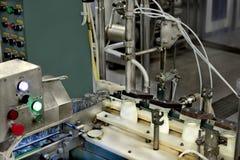 Mjölka fabriken Arkivfoton