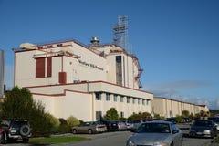 Mjölka fabriken Fotografering för Bildbyråer