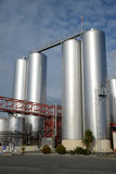 Mjölka fabriken Arkivbilder