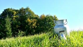 Mjölka mjölkkannan Royaltyfria Bilder