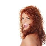 mjölka mustaschen Royaltyfria Bilder