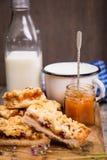 mjölka pien Fotografering för Bildbyråer