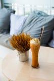 mjölka tea Fotografering för Bildbyråer