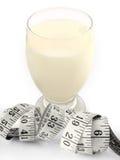 mjölka weightloss Arkivfoton