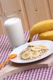 mjölkar kalla nya för banansädesslag Royaltyfria Bilder