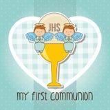 mój communion najpierw Obrazy Royalty Free