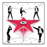 MJ's star Stock Photos