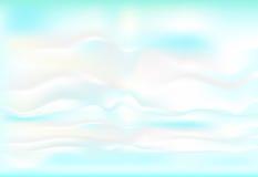 Mjuk bakgrund för blått och vitt lutningabstrakt begrepp vektor illustrationer