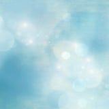 Mjuk blå ny naturbakgrund stock illustrationer