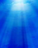 Mjuk blåttsky Arkivbild