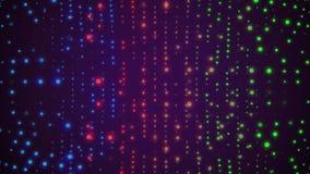 Mjuk blinkavägg av kulört glödande färgrikt för ny kvalitets- universell rörelse för ljusanimeringbakgrund dynamiskt livligt vektor illustrationer