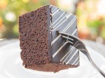 Mjuk chokladkaka Royaltyfri Fotografi