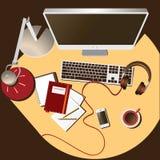 Mjuk färg för arbetsplats Royaltyfri Foto