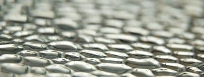 Mjuk fokus för metalltexturbakgrund Royaltyfri Foto
