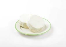 Mjuk mognad vit ost fotografering för bildbyråer