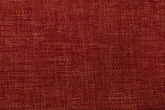Mjuk röd textil som bakgrund Royaltyfria Foton