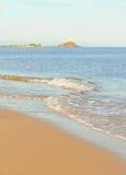 Mjuk våg av havet Royaltyfri Fotografi