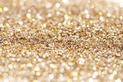 Mjuka ljus silver och guldbakgrund Royaltyfria Bilder