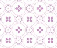 Mjuka rosa färger cirkel-baserad design Arkivbilder
