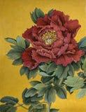 Mjukhet och bräcklighet av pionen Royaltyfri Bild
