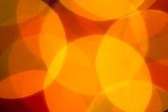 Mjukt guld- ljus Arkivbild