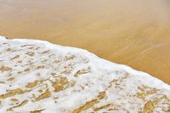 Mjukt vinka av havet Royaltyfria Foton