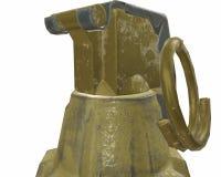Mk2 ejemplo de la granada 3d Imagen de archivo libre de regalías