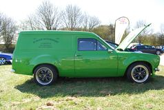 Mk1 escort van Stock Photo