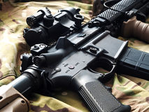Mk18 MOD1 U.S. Army carbine Royalty Free Stock Image