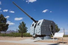 MK 39 navy gun Stock Photo