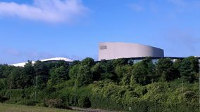 Mk-teater och Xscape i sommar Arkivbilder