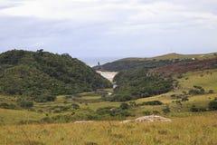 Mkambati -狂放的海岸 库存图片