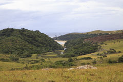 Mkambati - Dziki wybrzeże Obraz Stock