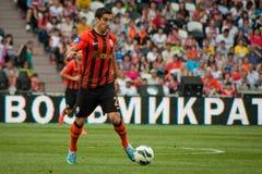 Mkhitaryan今后Henrikh橄榄球俱乐部Shakhtar 免版税库存图片