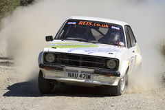 A Mkii Ford Escort rally car Royalty Free Stock Images