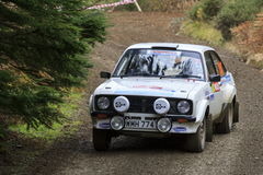 A Mkii Ford Escort rally car royalty free stock photography