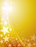 Mknącej gwiazdy tło Zdjęcia Royalty Free