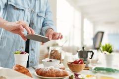 Mknący śniadanie Obraz Royalty Free