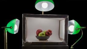 Mknąca lokacja puchar owoc obrazy stock