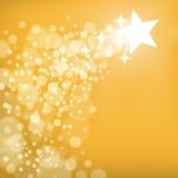 Mknącej gwiazdy tło Fotografia Stock