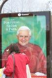 mkt mupi plenerowy pope Portugal target61_0_ s Fotografia Stock