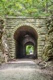 MKT tunnel on Katy Trail, Missouri Royalty Free Stock Image