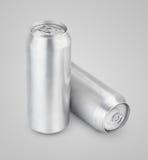 500 ml aluminiumölburkar Arkivfoton