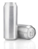 500 ml aluminum beer cans Stock Photo