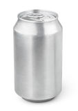 330 ml aluminum soda can Royalty Free Stock Images