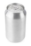 330 ml aluminum sodavattencan Royaltyfri Fotografi