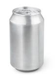 330 ml aluminum sodavattencan Royaltyfria Bilder